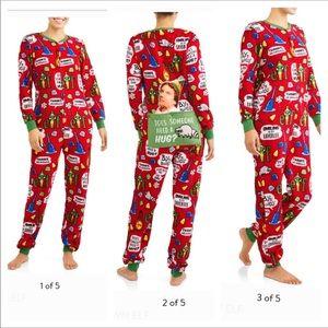 ELF Women Fleece One Piece Pajama With Drop Seat